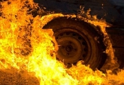 Жуткое ДТП: Машина и все ее пассажиры сгорели