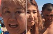 Мужчина-отдыхающий ударил кулаком 9-летнего мальчишку в лицо на пляже Иссык-Куля