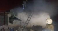 Пятеро детей сгорели при пожаре в Астане (видео)