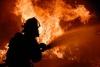 В бишкекском кафе произошел пожар