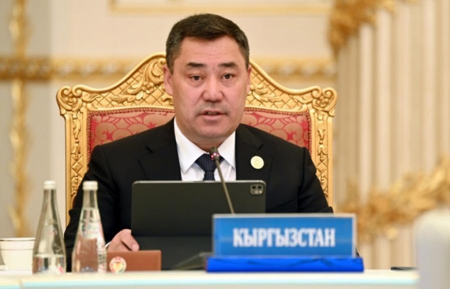 Завершился рабочий визит Садыра Жапарова в Таджикистан
