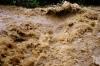 В Оше селевые потоки затопили жилые дома и другие объекты города