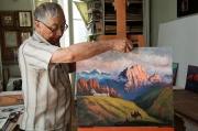 Взглядом художника по земле Кыргызстана
