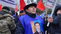 Садыр Жапаров просит своих сторонников не митинговать, если он не победит на выборах