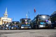 В новых китайских автобусах не действуют льготы для пенсионеров