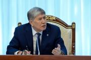 Атамбаев: «Золотая» молодежь должна знать, что родители не смогут их откупить