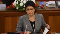 Асель Кодуранова заявила коллегам, что по закону нельзя лишить Атамбаева неприкосновенности