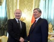 Путин и Атамбаев обсудили в Сочи итоги парламентских выборов