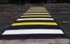 На дорогах устанавливают разметку и «лежачие полицейские» по новым стандартам