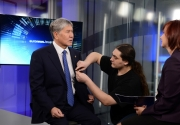 Алмазбек Атамбаев дал интервью телеканалу «Евроньюс»