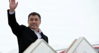 Садыр Жапаров вылетел с официальным визитом в Туркменистан