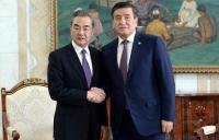 Сооронбай Жээнбеков принял министра иностранных дел Китая Ван И