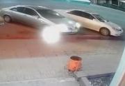 В Бишкеке разыскивают виновника идиотской аварии