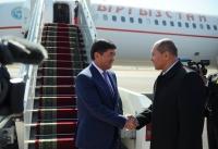 Мухаммедкалый Абылгазиев прибыл в Душанбе