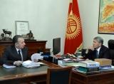 Алмазбек Атамбаев и Фарид Ниязов встретились «официально»