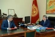 Президент принял министра иностранных дел