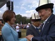 Айсулуу Тыныбекова: Я проголосую за Сооронбая Жээнбекова