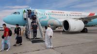 Из Китая в Бишкек вернулись 100 граждан Кыргызстана