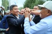 Сооронбай Жээнбеков: Обеспечение населения чистой питьевой водой – вопрос национальной безопасности