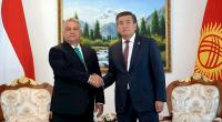Сооронбай Жээнбеков встретился с главой правительства Венгрии