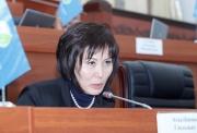 Депутат ЖК Гульшат Асылбаева объяснила, что имела в виду