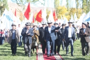 Кара-Кульджинцы благословили  Жээнбекова на должность Президента Кыргызстана