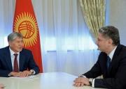 Алмазбек Атамбаев принял председателя Коллегии Евразийской экономической комиссии Тиграна Саркисяна