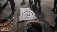 В России задержали кыргызстанскую фуру с 16 кг героина (видео)